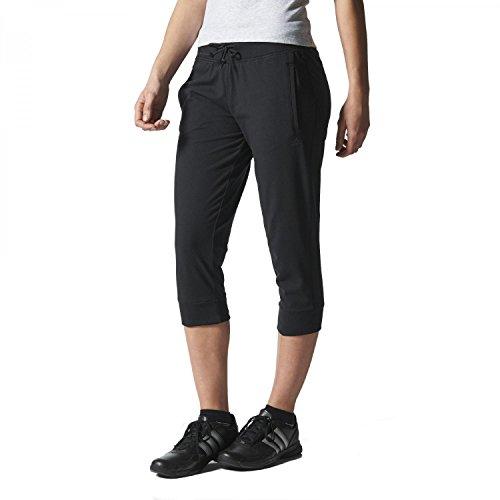 Adidas Essentials-Pantaloni a 3/4fino a 7/8Sport Pants, S20930, nero, XS