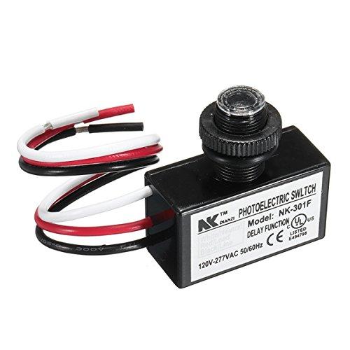 Interruptor Fotoeléctrico Ac 80-277V Fotocélula Amanece A Botón De Amanecer Control De...
