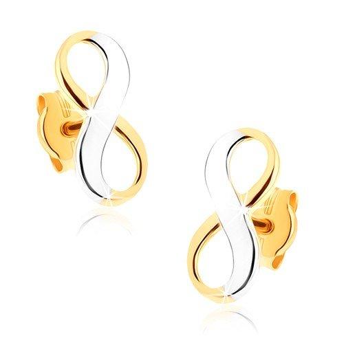 ORDOŠ Diamonds pendientes de oro bicolores...
