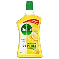 Dettol Lemon Antibacterial Power Floor Cleaner 900ml