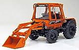 WEISE Toys 1109 DEUTZ INTRAC 2003 A mit Frontlader Kommunal (1974 - 1978)