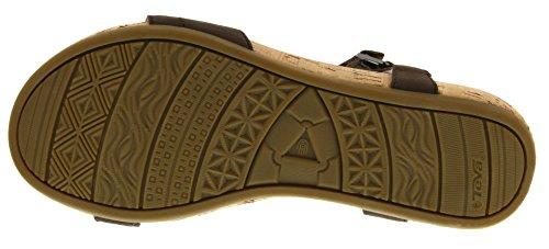 Teva Capri Universal W's, Sandales Femme Marron (Pearlized Chocolate)