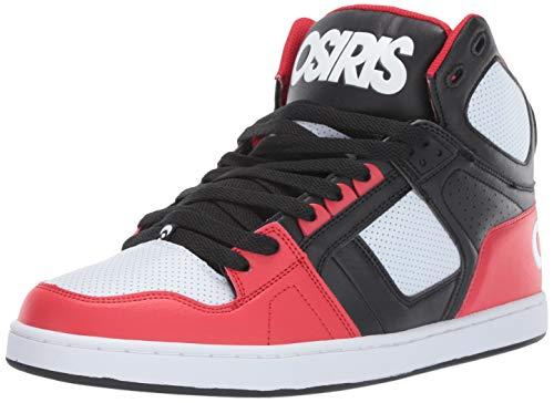 Osiris Herren NYC 83 CLK, schwarz/rot/weiß, 45 EU