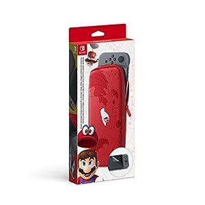 Nintendo Switch – Nintendo Tasche und  Display-Schutz (Super Mario Odyssey)