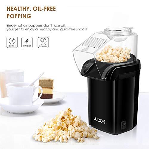 Aicok – Heißluft – Popcornmaschine - 2