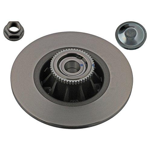 Preisvergleich Produktbild febi bilstein 28151 Bremsscheibe mit Radlager und ABS Impulsring (hinten, 1 Bremsscheibe), Lochzahl 5