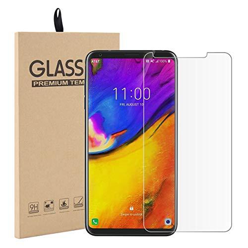 Caseforyou LG V35 ThinQ Schutzfolie 1 Pack 3D Touch [Keine Bläschen] Transparent 9H Härte Anti-Kratzen Screen Protector Ultra HD Gehärtetem Glas Schutzfolie Screen Film für LG V35 ThinQ