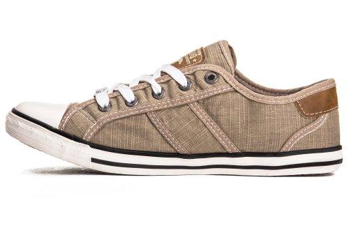 Mustang Shoes Damen Schuhe Sneaker beige Beige