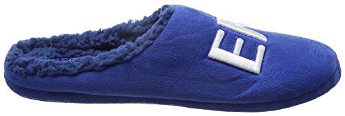 Bafiz Everton, Chaussons Mules Homme Bleu (Blue/Navy 34U)