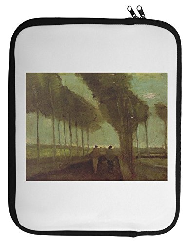 Country Lane With Two Figures Van Gogh Painting Laptop Case 13