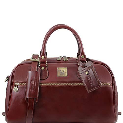 Tuscany Leather TL Voyager Sac de Voyage en Cuir - Petit modèle Marron