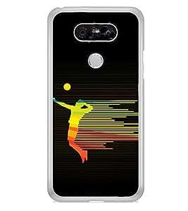 Player 2D Hard Polycarbonate Designer Back Case Cover for LG G5 :: LG G5 Dual H860N :: LG G5 Speed H858 H850 VS987 H820 LS992 H830 US992