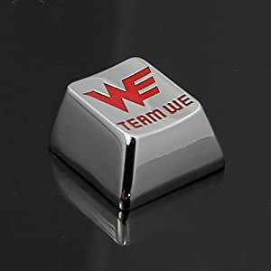 Generic Type9 : DOTA2 Gaming Keyboard Full Metal Keycaps Creative Customized R4 Keycap for All Kinds of Mechanical Keyboard