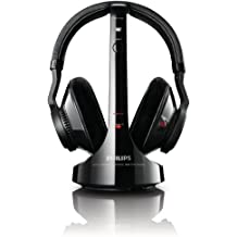 Philips SHD9200/10 - Auriculares de diadema cerrados inalámbricos (con soporte), negro