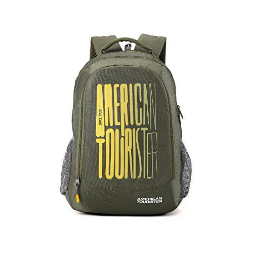 American Tourister 32 Ltrs Olive Casual Backpack (AMT Fizz SCH Bag 03 - Olive) Image 1