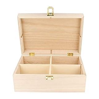 Artemio Wooden Tea Box 20 x 14 x 8 cm