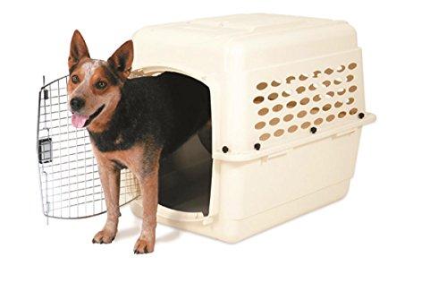 PETMATE 21948Vari Kennel Pet Carrier gebleicht Leinen, 30–50lb