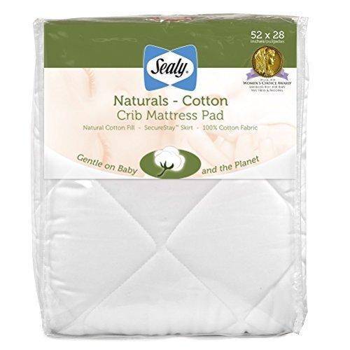 sealy-natural-cotton-crib-mattress-pad-by-sealy