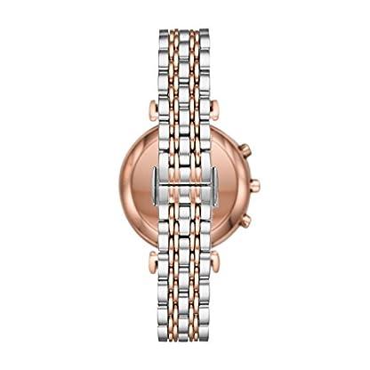 Emporio Armani Reloj Analogico para Mujer de Cuarzo con Correa en Acero Inoxidable ART3019