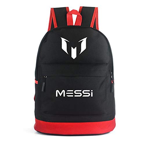 d89bc8d4c School Backpack For Men Women Cristiano Ronaldo Lionel Messi Neymar Travel  Student Backpack CR7 Bookbag For