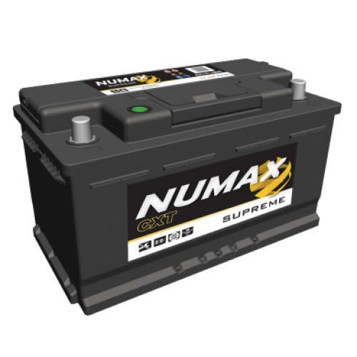 Numax Batterie Voitures Supreme AGM 110AGM L4 12V 80AH 800 AMPS (en)