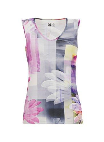 Trigema Damen Träger-Shirt Blumen Hibiskus