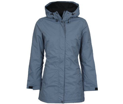 Bergson Outdoor Cappotto invernale ALBA - Donna, Blu (Blue Mirage [339]), 44
