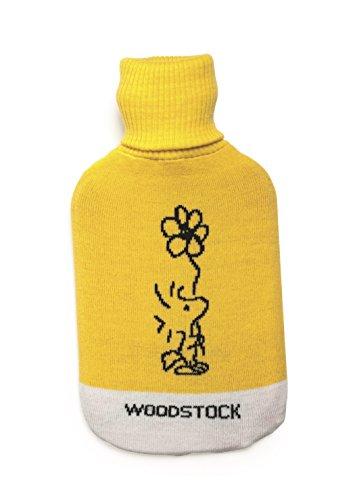Merry Christmas Excelsa Peanuts-Wärmflasche Woodstock 35x19x3.5 cm gelb