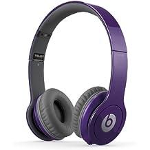 Beats By Dr. Dre Solo HD - Auriculares de diadema abiertos (con micrófono, control remoto integrado), morado