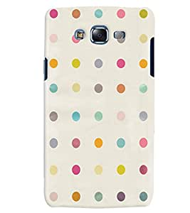 Citydreamz Colorful Dots Pattern Hard Polycarbonate Designer Back Case Cover For Samsung Galaxy Grand 2 G7102