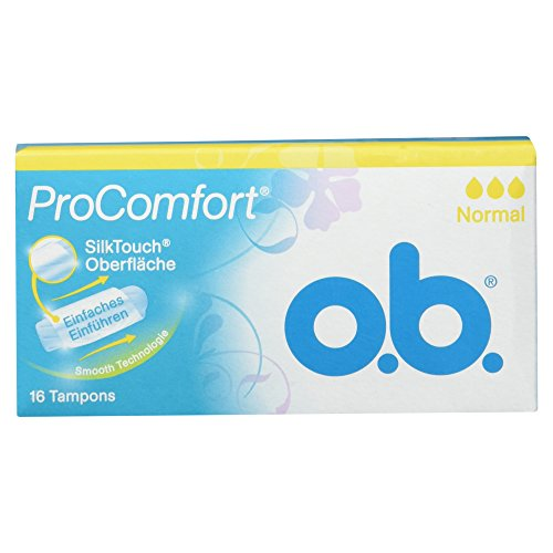 o.b. ProComfort Tampons Normal, 16 Stück