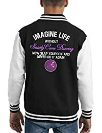 Coto7 Imagine Life Without Strictly Come Dancing Kids Varsity Jacket