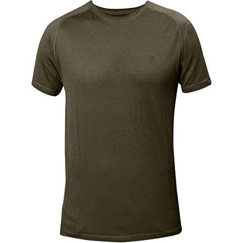 Fjällräven Herren Abisko Trail T-Shirt dark olive
