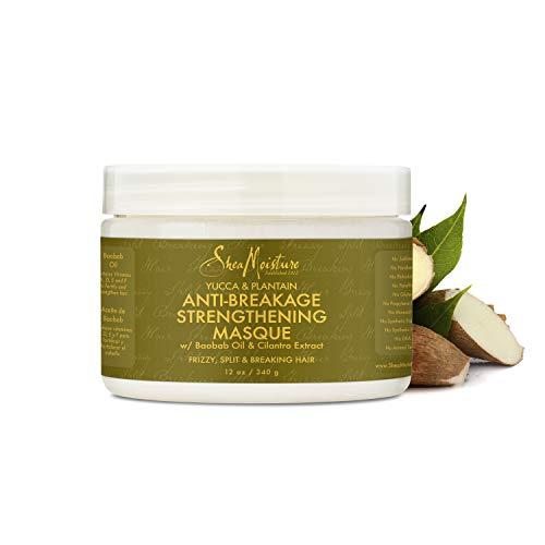 Feuchtigkeit Hair Masque (Shea Moisture Yucca & Plantain anti-bruch Stärkung masque)