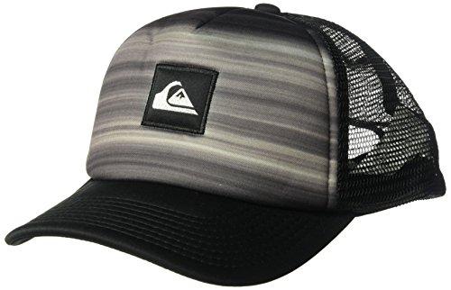 Quiksilver Halten Sie Trucker Hat, O/S, Black (Black Quiksilver Hat)