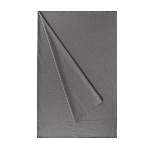 Telo multiuso granfoulard d' arredo zucchi easy chic copridivano copriletto cm 270 x 270 foulard emotion tessuto effetto lino (grigio - 1774)