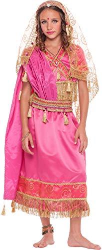 chiber Kostüme Mädchen Hindu Kostüm für Mädchen Talla 5 (4-5 - Hindu Indischen Prinzessin Kostüm