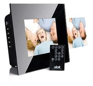 Abit Digitaler Bilderrahmen P80-A1 mit integriertem Drucker (20,3 cm (8 Zoll) Display, 128 MB interner Speicher)