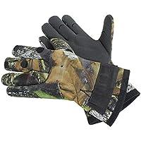 SUTTER Jagdhandschuhe mit 3-Finger-Cut - Camouflage