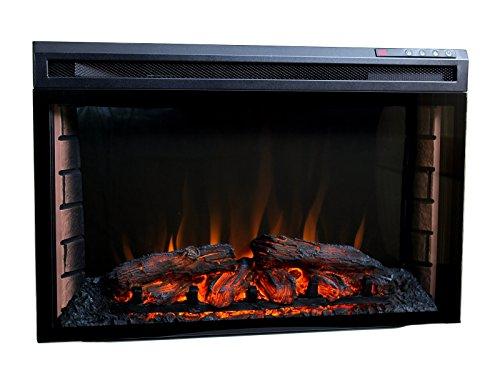 Elektrisches Kaminfeuer Kaminofen mit LED-Flammen und 2kw Heizung Kamin