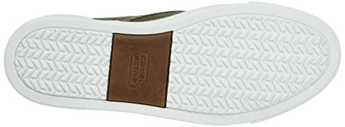 camel active Herren Racket 16 Slipper Grün (Army)