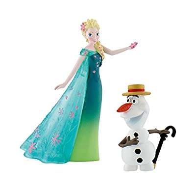 Disney Frozen Fever Double Pack Elsa + Olaf m. Hut: Disney Frozen Fever por Bullyland