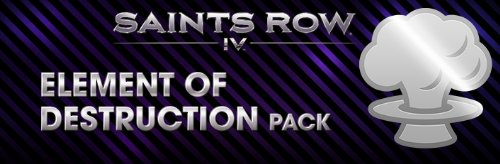 Saints Row 4 Element of Destruction Pack DLC
