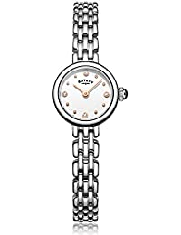 Rotary 'Cocktail' Quartz Stainless Steel Casual Watch, Color Silver-Toned (Model: LB05052/02)