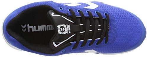 Hummel HUMMEL ROOT PLAY, Chaussures indoor mixte adulte Bleu - Blau (Turkish Sea 7524)
