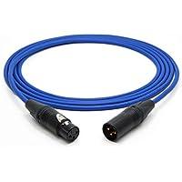 Mogami 3080 AES/EBU Digital Cable 110 Ohm   Neutrik XLR Hembra - XLR Macho   HiFi 1,5 m