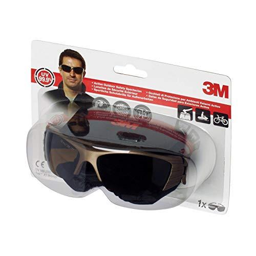 3M FUELX2BR - Gafas de seguridad con protección impactos, bronce