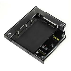 Leicke Universal SATA deuxième Adaptateur disque dur pour baie de lecteur universelle pour Notebook/ordinateur portable