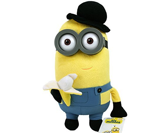 Minion Bowler and Banana Plush - Despicable Me - 28cm 11""