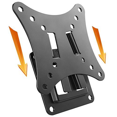 RICOO F0111, Monitor-Halterung, Flach, Fix, Universal 13-29 Zoll (33-74 cm) Ultra-Slim, LCD/TFT/PC Bildschirm-Wandhalterung, VESA 100x100, Schwarz